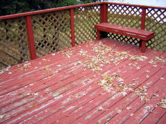 The tragic results of deck neglect.